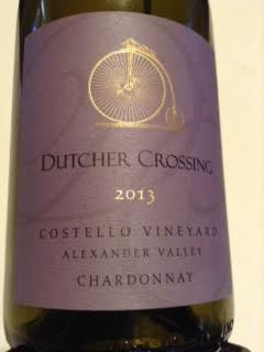 Dutcher Costello Vinyard Chardonnay, 2013