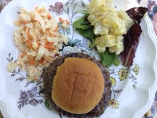 July 4 Buffalo Burgers