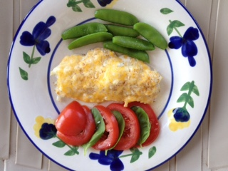 Fish with Cheese Sauce