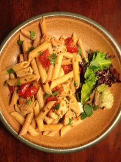 tuna-with-tomatoes-and-penne