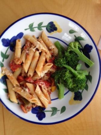 Pasta with Med Veg
