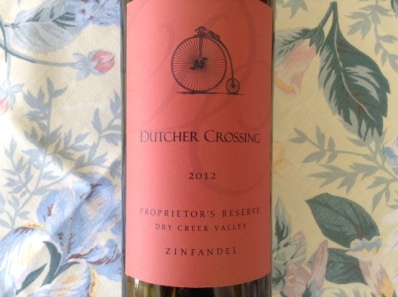 Dutcher Crossing Zin 2012