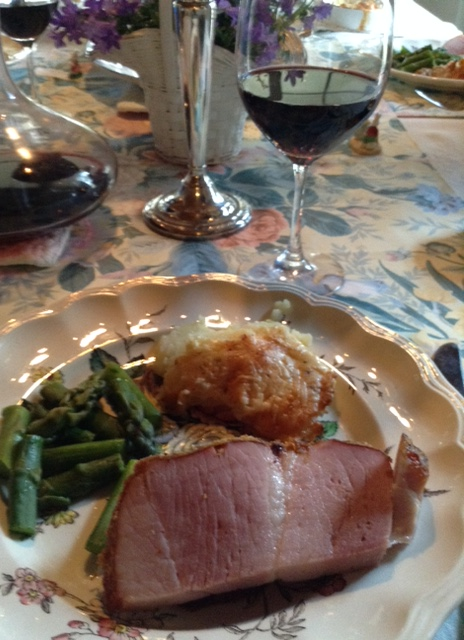 Easter Dinner with Zin