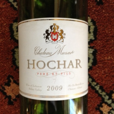 Hochar Lebanese Red Wine