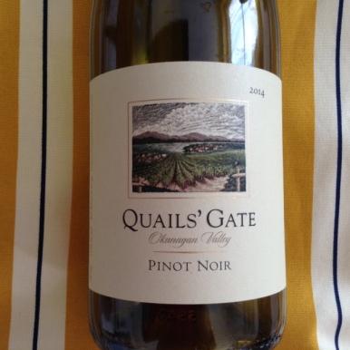 Quails' Gate Pinot Noir