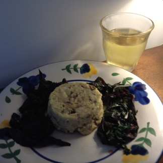 Fish Timbale w: Chardonnay