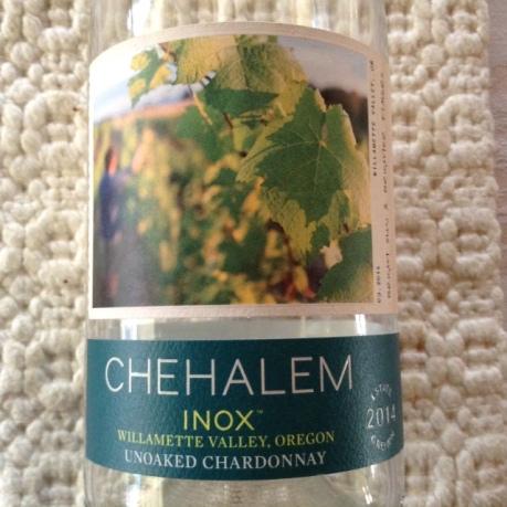 Chehalem Unoaked Chardonnay