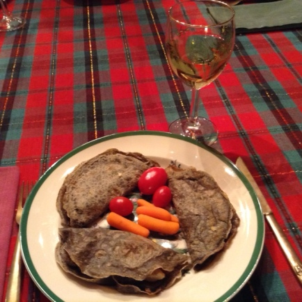 Crepes with Roussanne