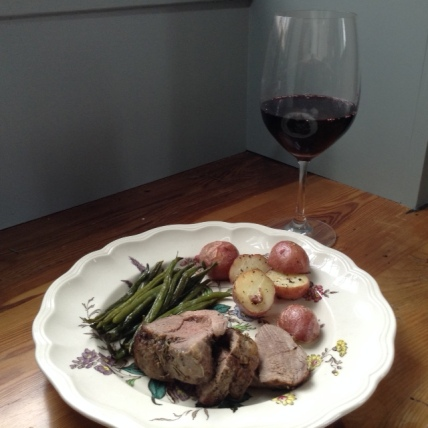 Roast Lamb with Saint Julien.