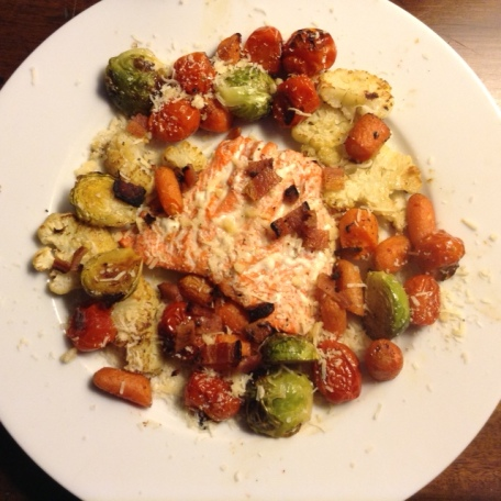 Salmon Roasted with VegetablesJPG