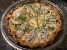 Oyster & Blue Cheese Pie