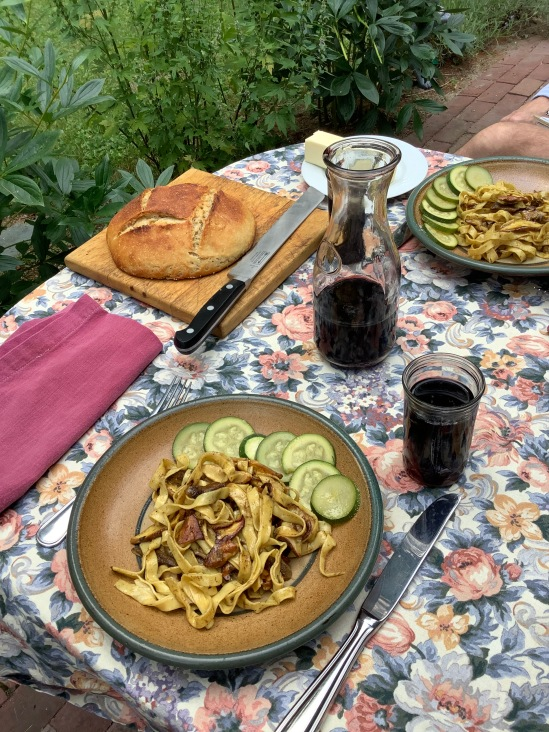 Pasta and Cepes